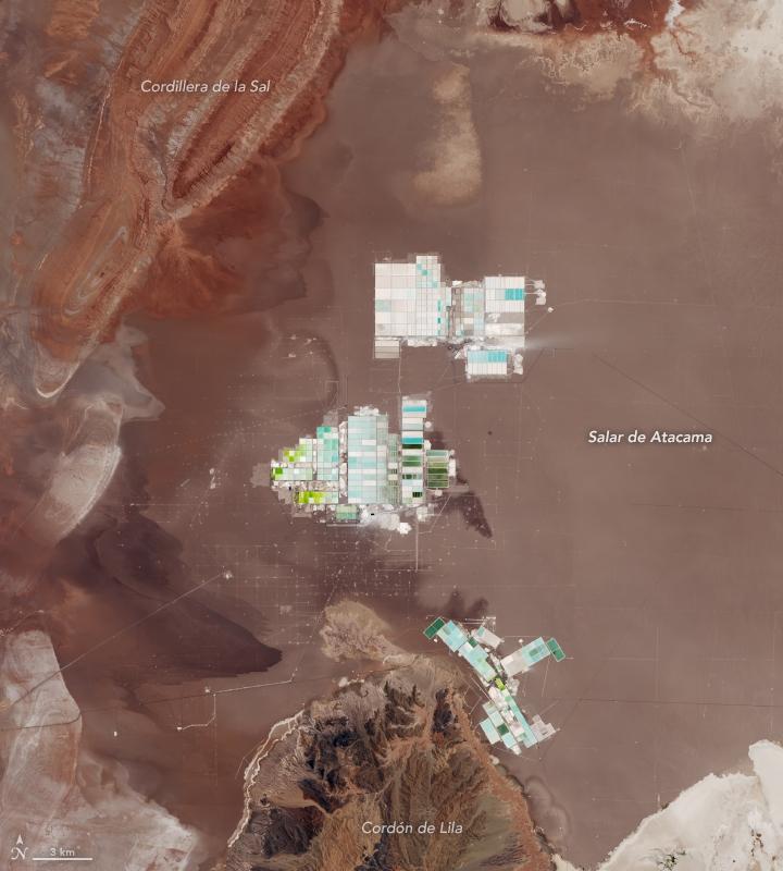 Gewinnung von lithium